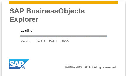 SAP BusinessObjects Explorer
